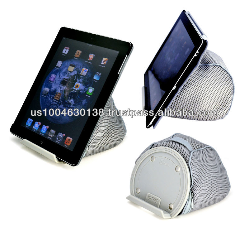 iProp Bed and Lap Stand; Universal Tablet Bean Bag Stand for iPad and most other Tablet PCs