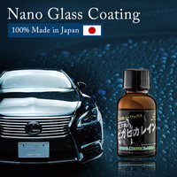car sealant wax | Ultra Pika Pika Rain | water beading effect | 100% glass coating made in Japan