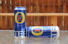 Foster premium lager beer 5% alc - 500ml can