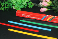 Colorful magnet strip for office, whiteboard, frige, freezer, school. Wholesale magnet strips cheap sale!