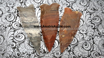 Agate Arrowheads : Wholesale Spearheads : Neolithic Arrowheads