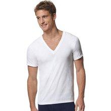 Hanes Men's ComfortSoft V-Neck Undershirt 3-Pack