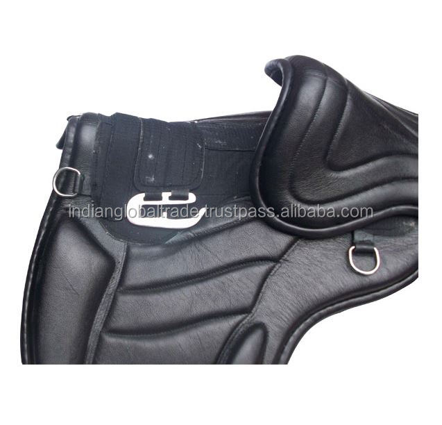 Indian Treeless Synthetic Saddle| Horse Exercise Saddle