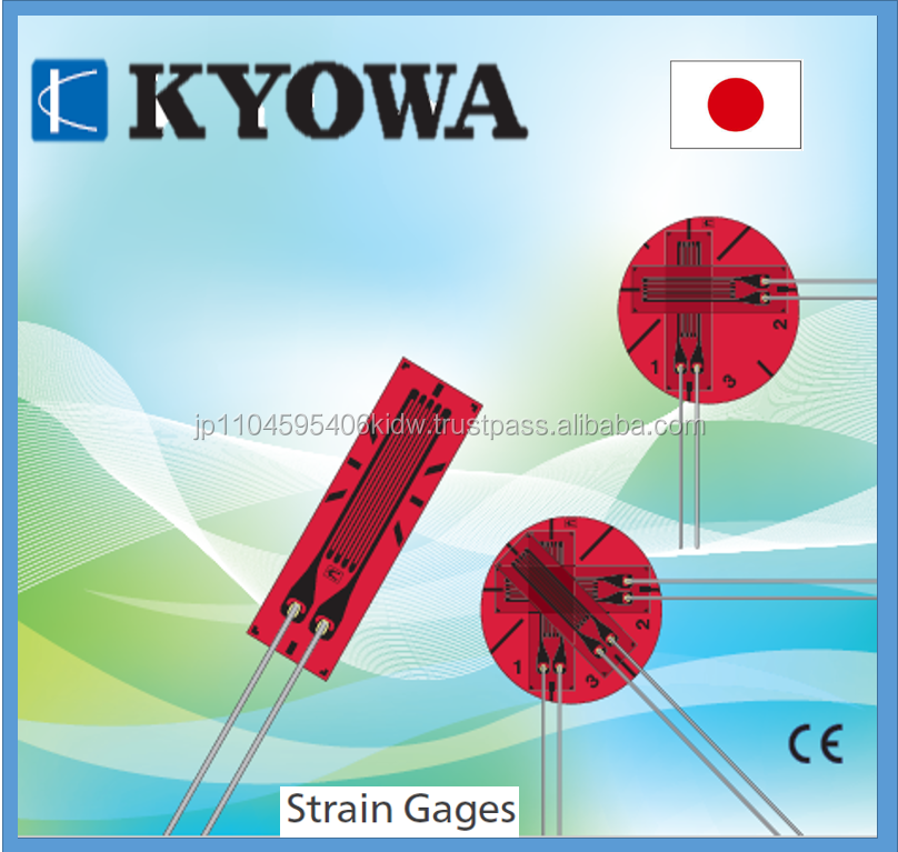 High quality and Easy to operate price Kyowa strain gauge for long term stability