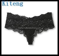 Kiteng hot sale transparent lady sexy panty women lace underwear sexy women underwear