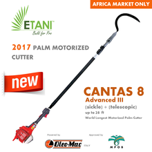 PALM MOTORIZED CUTTER - CANTAS 8 ADVANCED III (SICKLE)