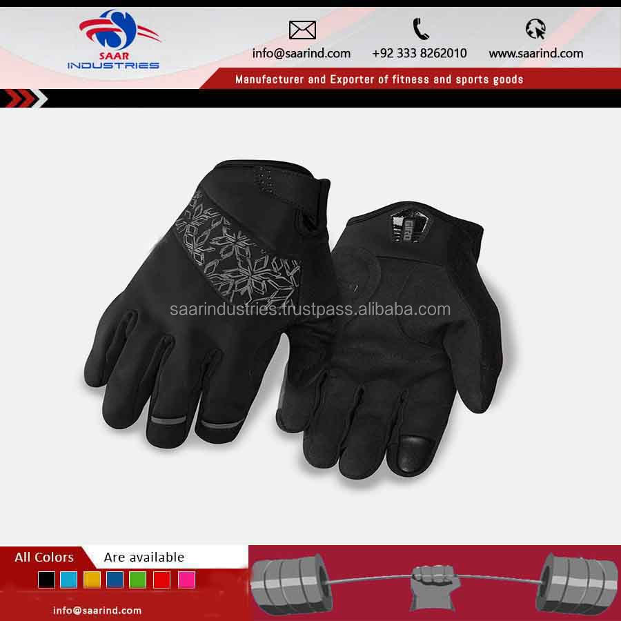 New Cycling Bike Bicycle gloves Winter Warm Wearable Sports Full Finger Gloves