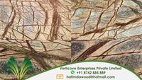 Brown Rainforest Marble Slab