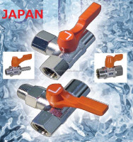 Compact slim line conect water blow off valve from japan