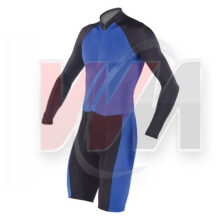 Navy Blue & Jet Black Cycling Skin Suits 2016, skate skin suit, skin suits speed skating
