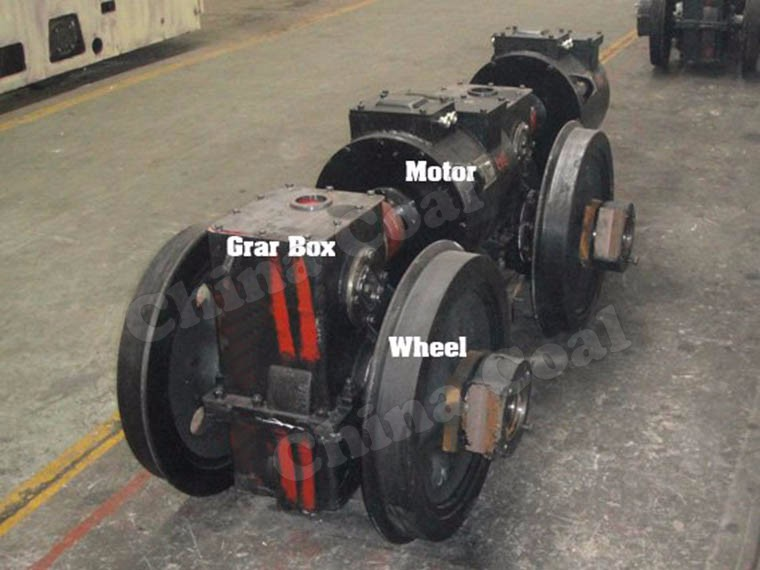 CTY2.5 / 6G 2.5t Explosion-proof Fuel Cell Powered Mine Locomotive