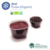 Organic Acai Puree 15% - Acidified