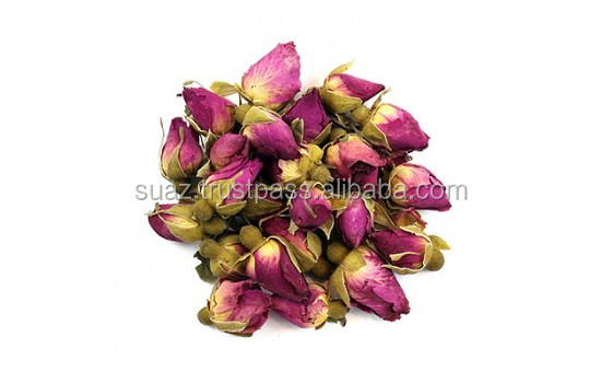 Dried rose buds , Sun dried rose flowers , Dried Herbs