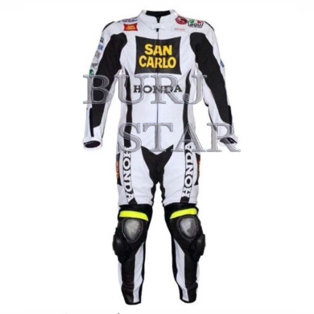 Motorcyle Racing Leather Suit , Full Safety Top Quality Motorbike Racing Suit