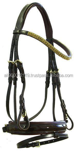 Leather Crystal bridle Wholesale Horse Bridle