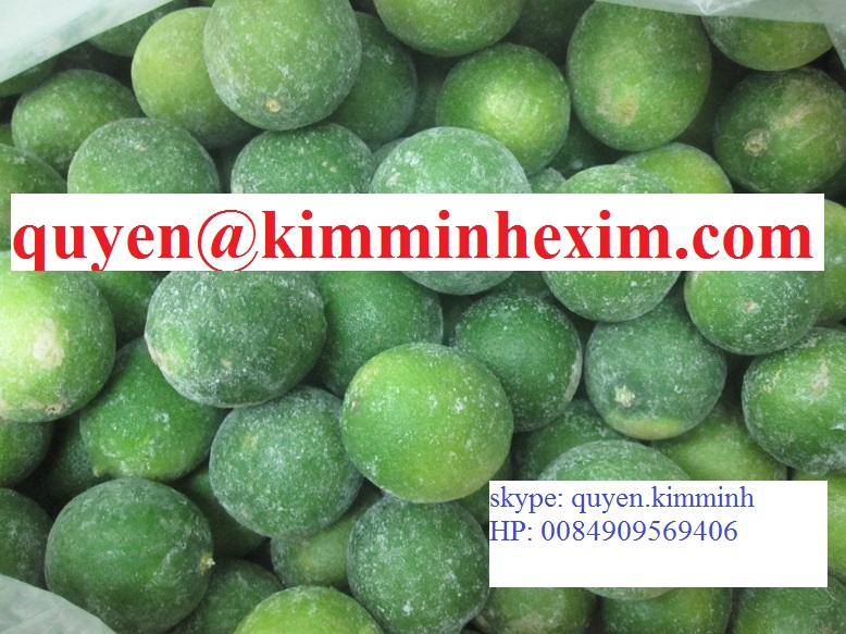 Vietnam Frozen Lime Slice (hotmail : quyen@kimminhexim.com)