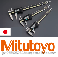 Reliable and smooth Mitutoyo digimatic caliper with simple functions made in Japan