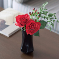 Easy to use customizable artificial flowers with fragrance for interior design
