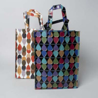 SHOPPING BAG REUSABLE 2 ASST TEARDROP #70755