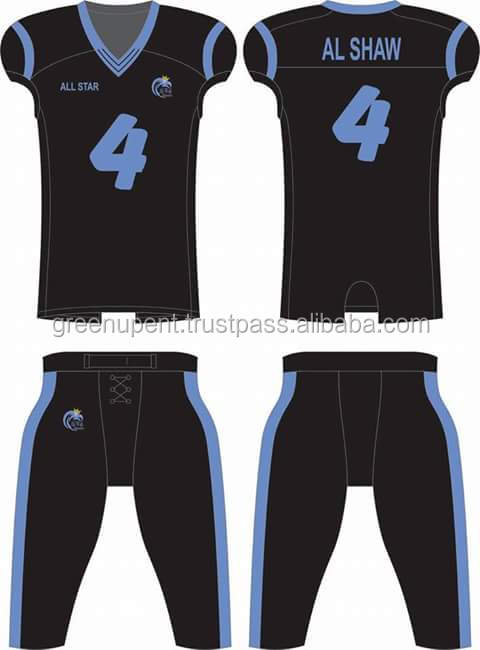 wholesale cheap national team latest designs youth sublimated custom soccer uniform american football