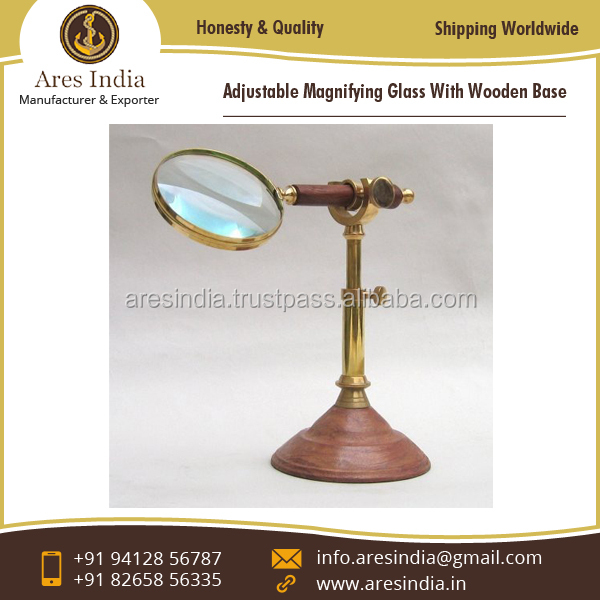 Standard Quality Magnifying Glass with Adjustable Stand for Sale