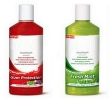 Mouthwash - 250ml. Paraben and Alcohol Free. Made in EU.