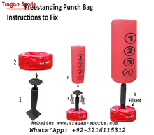PROFESSIONAL KIDS BOXING FREE STANDING PUNCH BAG