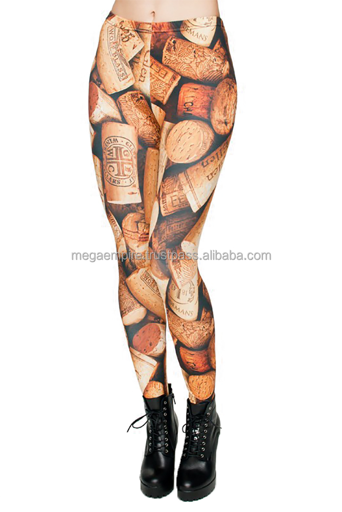 Custom made girls leggings, sublimation tights