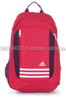 Softback Type and Day Backpack school bag raw material with offset printing