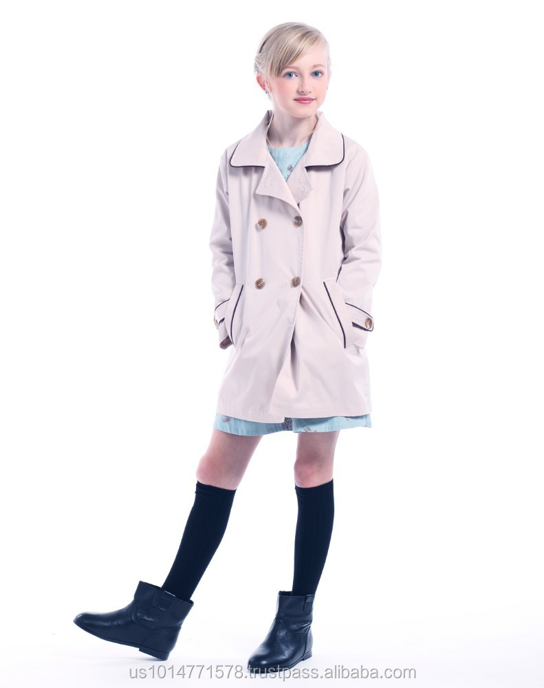 2016 new style girl's Wind Coat , Long style Coat , Windbreaker SH9129