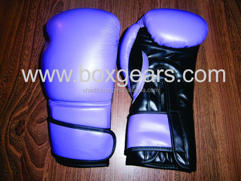Custom Leather pro Boxing Gloves 12oz