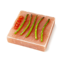 Himalayan Salt Block, Plate, Slab for Cooking, Grilling, Seasoning, And Serving (8 X 8 X 1.5)