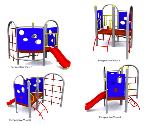 Playground Equipment-RS3506F
