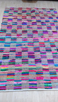 Recycled Multi colored Shaggy Rag Rugs