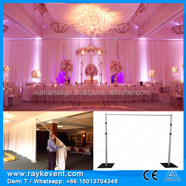 RK event flooring stage backdrop/ led screen wedding domes tents/ backdrop frame stage
