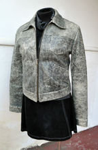 Gorgeous Urban Store Distressed Leather Fashion Zip Jacket NEW! Superb! FC-7828