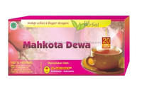 Mahkota Dewa Swarna PHALERIA God's Crown 25 Tea Bags/Box - For Cancer, Diabetic