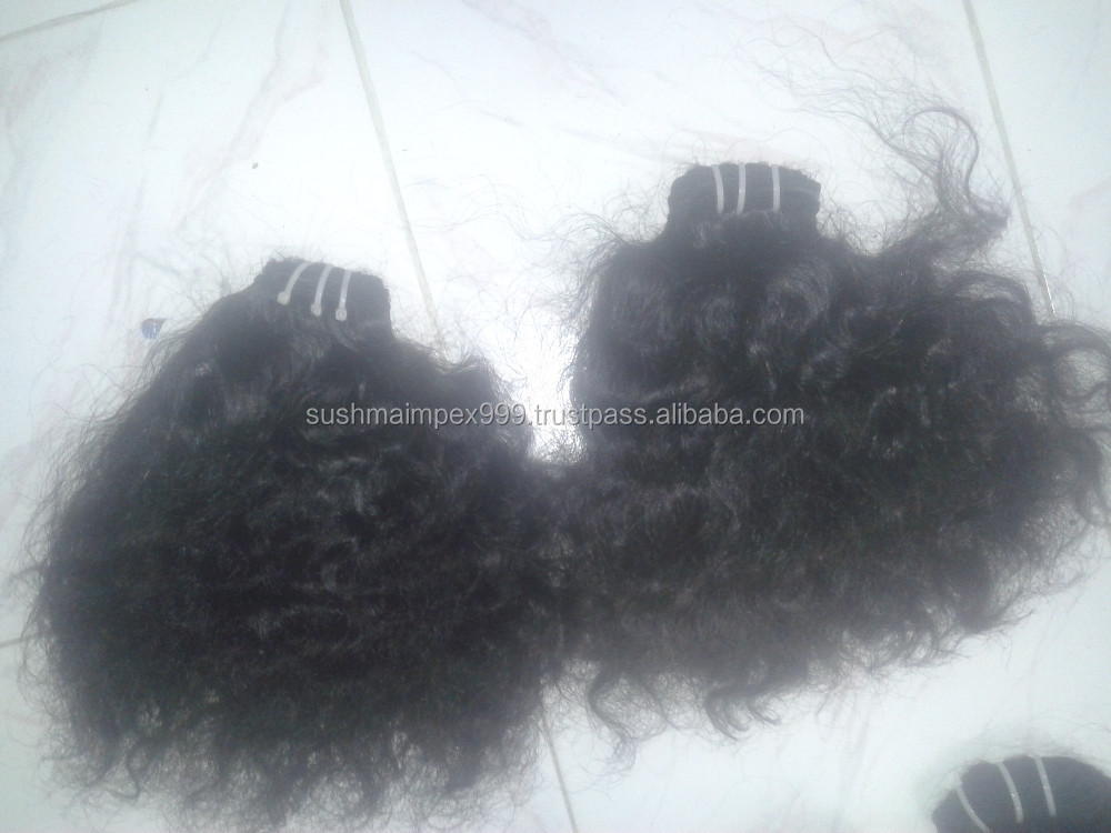 Indian Deep curly wefts, Raw Indian Virgin Hairs vendors, Indian temple hairs
