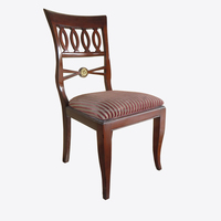 unfinished dining chair frame furniture by poplar acacia rubber wood