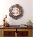 Metal Wall Mirror Indian Handicraft