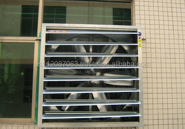 louver window with exhaust fan