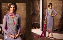 LONG KARACHI WORK SALWAR KAMEEZ ONLINE SHOPPING