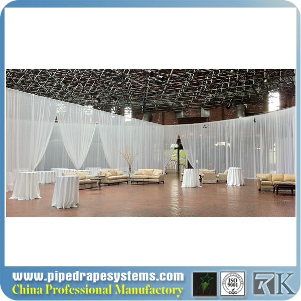 indian wedding party events decoration design round mandap/wedding chuppah backdrop/used portable pipe and drape for sale