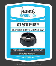 Oster Comparable Aftermarket Blender Base Jar Cap Replacement Part; Home Revolution Brand