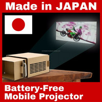Unique cardboard projector for smart phone , OEM order available
