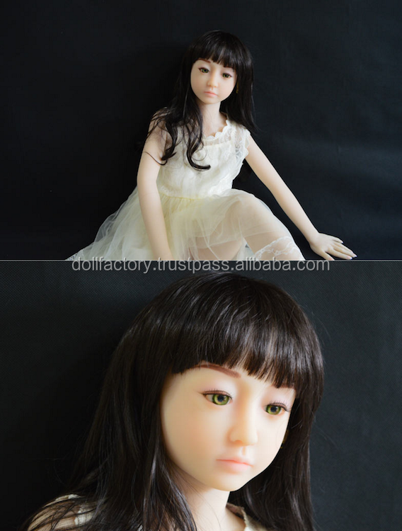 Free ship 128cm silicone no smell natural sex dolls with free sex american girl doll clothes