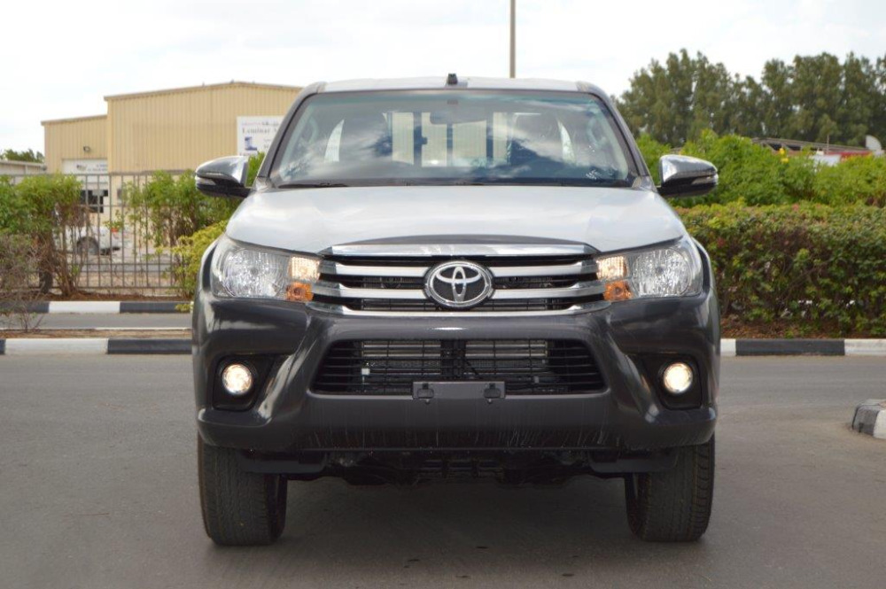 NEW CARS SALE IN DUBAI 2016 MODEL TOYOTA HILUX DOUBLE CAB PICKUP 2.4L DIESEL 4WD