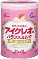 glico icreo balancemilk milk powder ensure milk made in japan