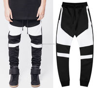 Latest market design sweatpants 2016/sweatpants with padding/jogger with high quality fabric