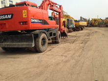 Used Daewoo Doosan DH150W-7 Wheel Excavator for Sale